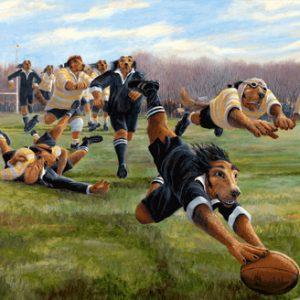 Houndlings at Play